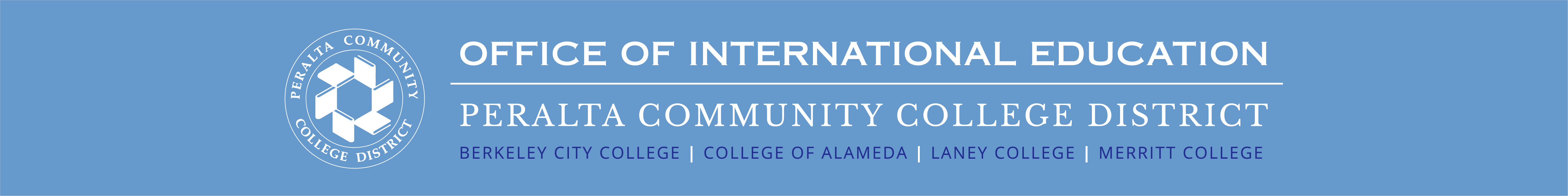 Office of International Education - Peralta Community College District